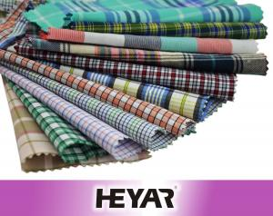 China China Supplier Wholesale New Premium Check Design 100% Cotton Yarn Dyed Woven Material Shirting Fabric and Textile on sale