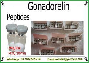 China GnRH Peptide Hormone Powder Gonadorelin / Gonadorelin Acetate CAS NO: 34973-08-5 on sale