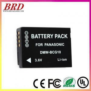 China For Panasonic BCG10 camera battery on sale