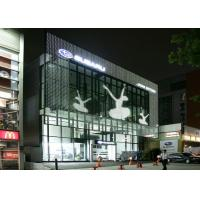 China Magic Transparent Glass Window Led Display , Glass Led Panel For Advertising on sale