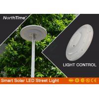 Plaza Garden 25W UFO Integrated Street Lamp With Monocrystalline Solar Panel