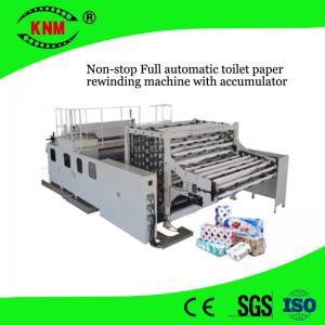 China Machine complètement automatique directe de rebobinage de papier hygiénique pour faire des rouleaux de papier hygiénique on sale