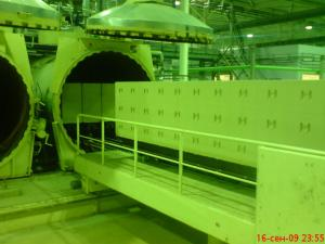 China Textile Sand AAC Brick Autoclave , Φ2m Lightweight AAC Plant on sale