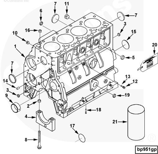 11 3008469 Plug Pipe Cummins Engine Parts For Sale