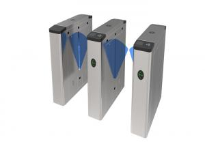 China High Security Access Control Turnstile Gate / Flap Barrier Turnstile For Park on sale