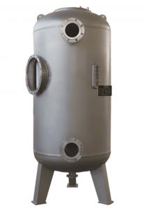 China Candle Diatomite Pool Filter Tank Renewable 15 - 50㎡ Filter Area Silver Color on sale