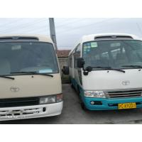 22 Seats Second Hand Toyota Coaster Bus , 2013 Year Toyota Coaster Used Japan