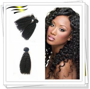 China Unprocessed Indian Remy Hair Afro Curly on sale