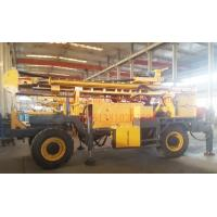 Multi Function Trailer Mounted Water Well Drilling Rig With Big Hole Diameter Drilling Capacity