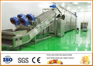 China Turnkey Pear Dried Fruit Production Line ISO9001 Certification on sale
