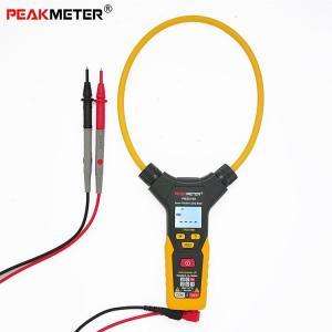 China Handheld Digita Clamp Multimeter , 6000 Counts True RMS Clamp Meter Tester on sale