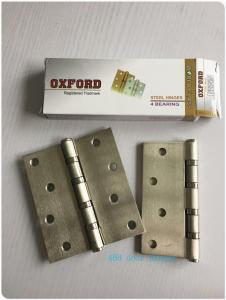 China Washer 4BB 2BB Residential Ball Bearing Door Hinges Golden Polished Steel on sale