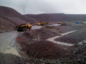 China Magnetite Iron Ore Fines on sale