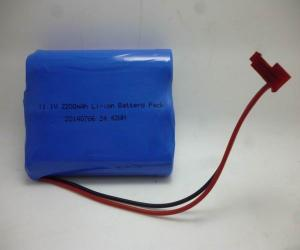 China 11.1V 2800mAh ni mh Lithium Battery Packs For Medical Devices on sale