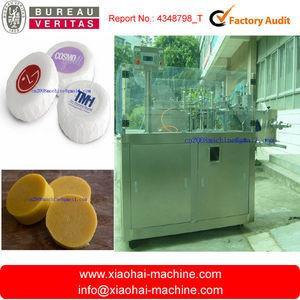 China 3 dans 1 machine de conditionnement complètement automatique de savon de pli (label de film, d'enveloppe, de bâton de forme) on sale