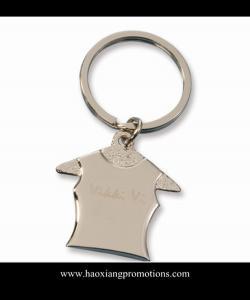 China La coutume a stigmatisé le keychain, la chaîne principale en métal, porte-clés en métal pour la promotion d'affaires on sale