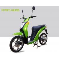 2 Wheels Pedal Assist Electric Bike , Electric Motor Assisted Bicycle 25-32km / H Speed