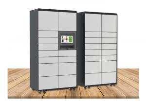 China Customized Smart Metal Cabinet Luggage Lockers With Phone Charging Function on sale