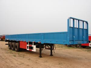 China SINOTRUK 40ft Heavy Duty Semi Trailers Cargo Truck 2 / 3 Axles With 40-60 Tons Cabuge on sale
