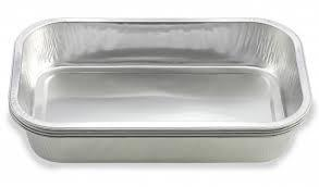 China Silver Aluminium Foil Paper Containers For Food Packaging Eco - Friendly on sale