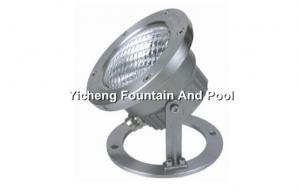 China 300 W Stainless Steel Underwater Pond Lights Stand Type Waterproof With PAR56 Bulb on sale