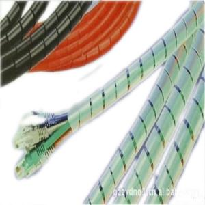 China FEP coiled tube,  FEP wrapped pipe on sale