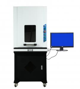 China 3W UV Laser Marking Machine For Phone Pad Power Bank Superior Performance on sale