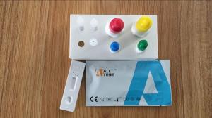 China Strep A Antigens Rapid Malaria Test Kits Malaria Testing Kits In Throat Swab Specimens on sale