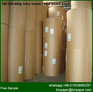China 300g 350g 400g white paper &  paperboard / fbb board for printing all box on sale