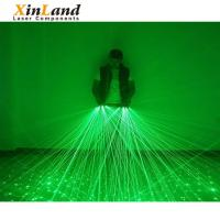 China Party supply 532nm green lighting bar cool beam laser gloves on sale