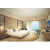Solid Wood And Panel 5 Star Hotel Furniture For Apartment Room