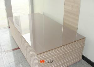 China Indoor Ultra Violet Coating Matt / High Gloss UV Board For Cupboard / Kitchen Shutters on sale