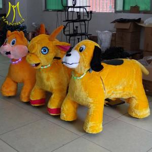 China Hansel  electric ride on animals boys electric motorbike animal scooters on sale