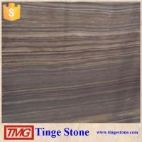 High Grade Elegant Obama Wooden Grain Marble Tile For Luxury Design