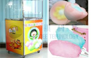 China Customized Cotton candy machine for kids with automatic control and DIY model , 4-6pcs/min on sale