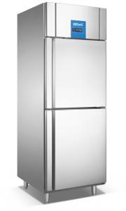 China 2 Half Door Stainless Steel Single Door Fridge Refrigerator With CE Certificate on sale