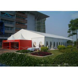 China Wind Resistant Extensive Outdoor Event Tents With Fabric Material For 200 People on sale