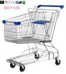 Каретный цинк вагонетки покупкы супермаркета провода покрыл 125L/магазинные тележкаи металла