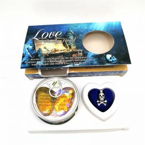 China Nice Gift Love Pearl and Wish Pearl Gift Set With Neckalce and Skull  Cage Pendant on sale