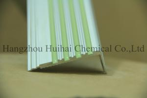 China Glow in the dark stair nosing/Aluminum Photoluminescent Stair Nosing/Metal Stair Nosing Aluminum on sale