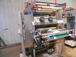 China High Percision Multi Color Flexo Printing Machine For Supermarket Handbag on sale