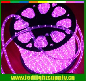 China Led flat duralights 1/2'' 2 wire 12/24v led rope lights strip on sale
