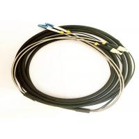 Outdoor 2,4,8,12 Cores FO Tactical FC-LC DX Connectors Pach Cord Cables