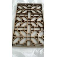 Cooper  Metal Laser Cut Panels Color stainless steel screens Cooper Metal Laser Cut Panels For Sunshades Louver 304 316