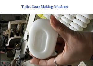 China Eco Friendly 56.3kw Toilet Soap Plant 300-800kg Per Hour Capacity on sale