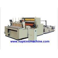 Full Automatic Toilet Paper Making Machine , Jumbo Roll Toilet Tissue Machine