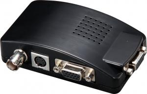 China 1080P BNC / CVBS to VGA Video Converter Support 3D Motion , OSD Display on sale