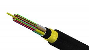 China Multimode Fibre Optic Cable Assemblies , PVC Jacket Cable Light Weight on sale