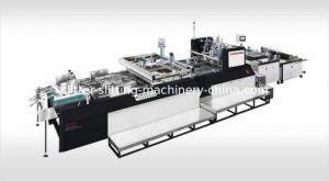 China China top 1 screen press JINBAO Brand JB-900TC fully automatic Window Patching Machine/window sticker gluer on sale