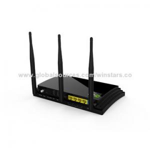 China AC1200 Wireless Dual Band Gigabit Router with WPS, Simultaneous 2.4GHz 300Mbps and 5GHz 900Mbps on sale